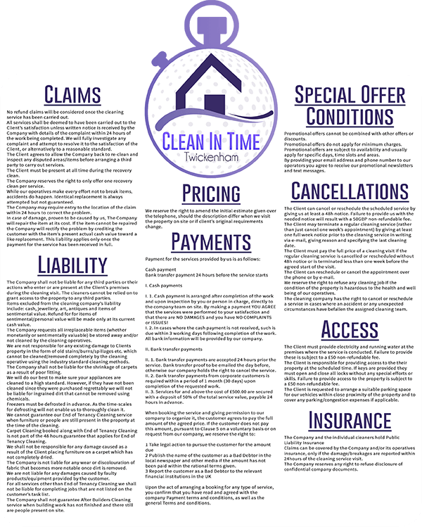 Terms-and-Conditions-Clean-In-Time-Twickenham